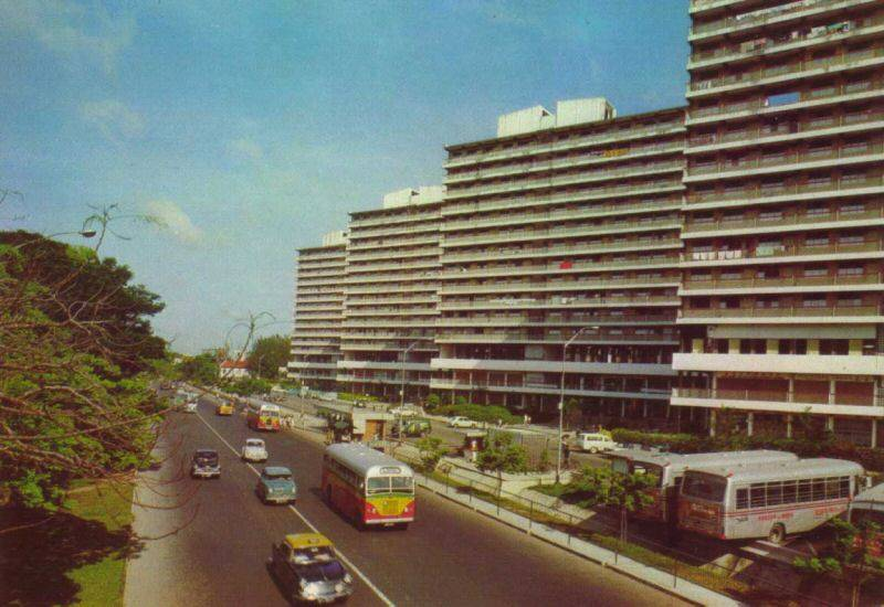 Outram Park around 1970